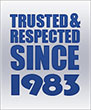 Trusted and Respected since 1983